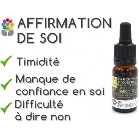 Elixir composé AFFIRMATION DE SOI