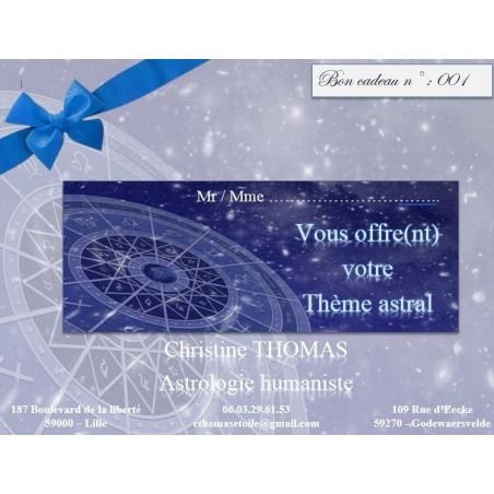 Chèque cadeau Astro
